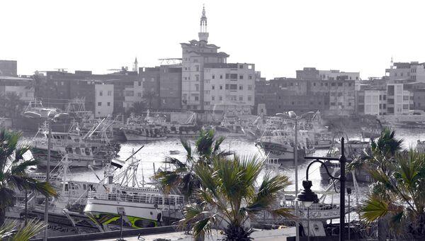 Вид на город Думьят в Египте. Архивное фото