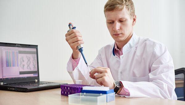 Аспирант ТюмГУ Сергей Дьячков проводит исследования в области бионформатики