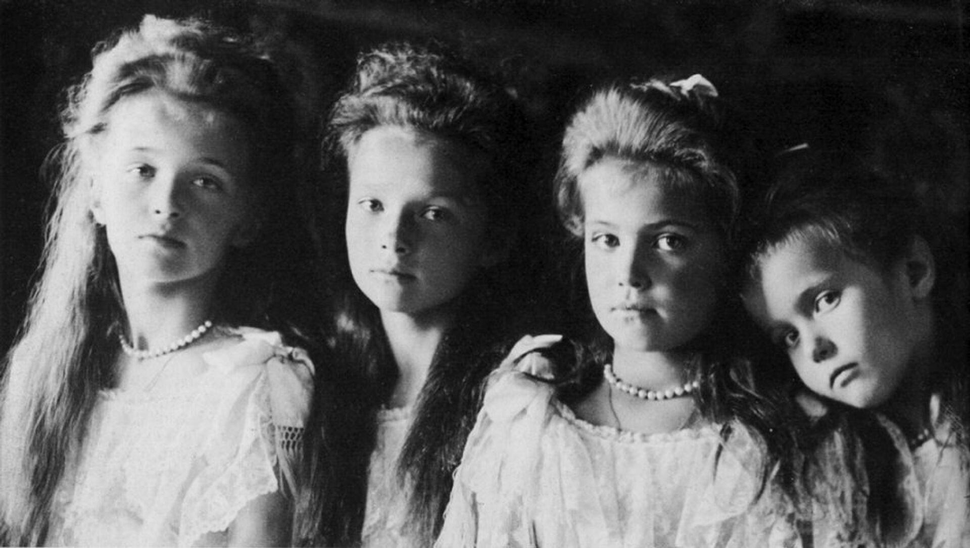 Ольга, Татьяна, Мария, Анастасия - РИА Новости, 1920, 09.02.2021