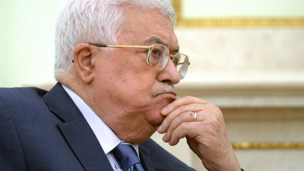 Президент государства Палестина Махмуд Аббас. Архивное фото