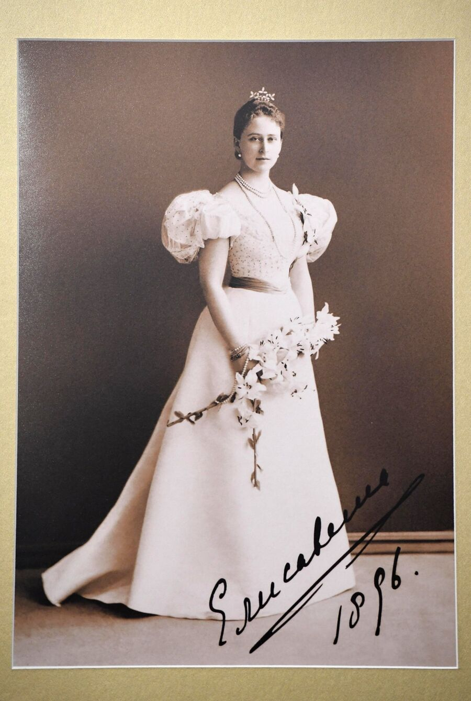 Фотография Великой Княгини Елисаветы Федоровны (1896 г.) в музее святой царской семьи в Екатеринбурге