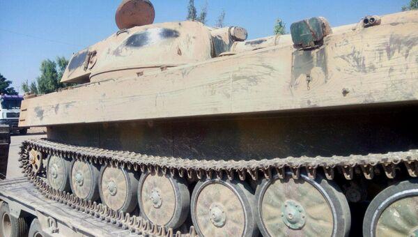 Военная техника, сданная боевиками в Сирии. Архивное фото