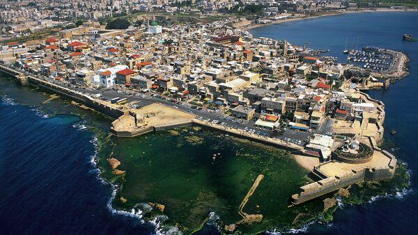 Вид на Старый город Акко, Израиль