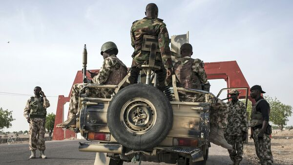 Военные в Нигерии. Архивное фото