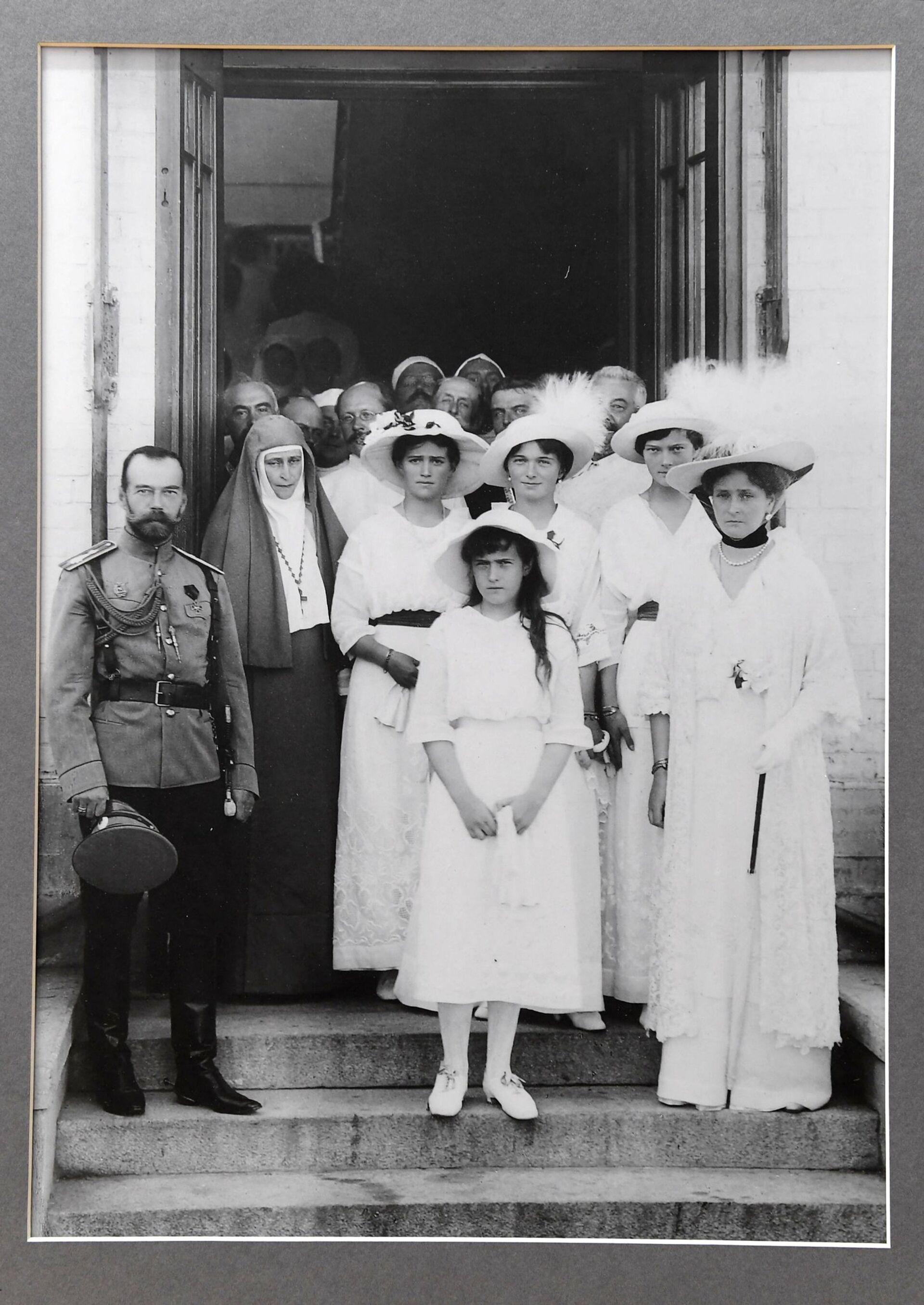 Фотография царской семьи в Музее памяти представителей Российского Императорского Дома Напольная школа в городе Алапаевске - РИА Новости, 1920, 09.02.2021