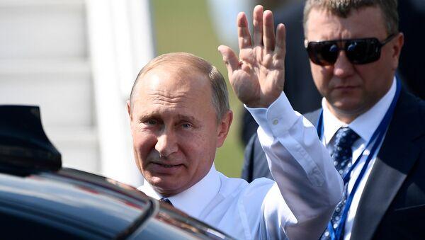Президент РФ Владимир Путин прибыл в Хельсинки для встречи с президентом США Дональдом Трампом. 16 июля 2018