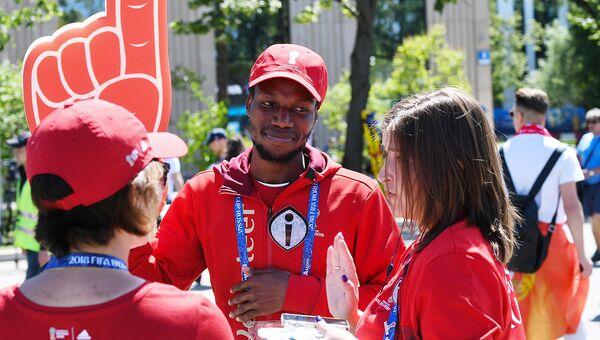 На ЧМ-2018 было 7% иностранных волонтеров