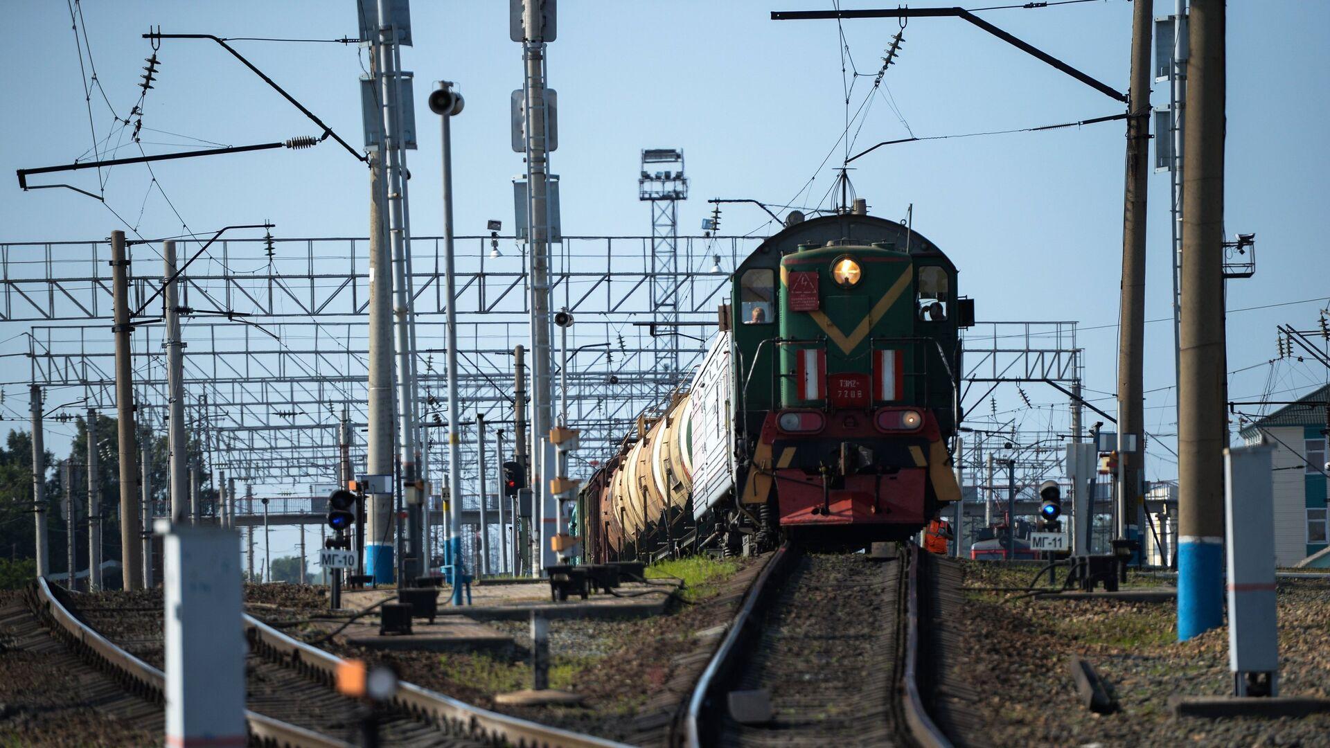 Западно-Сибирская железная дорога - РИА Новости, 1920, 17.07.2021