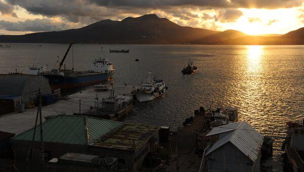 Порт Южно-Курильска. Архивное фото