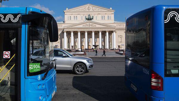 Автобусы в Москве. Архивное фото