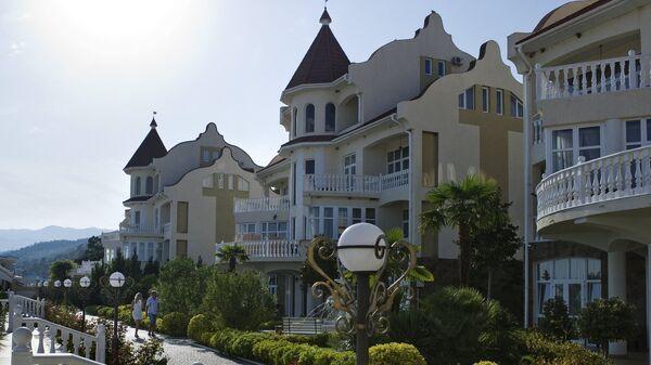 Отель в местечке Семидворье в окрестностях Алушты
