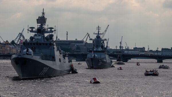 Корабли российского флота. Архивное фото