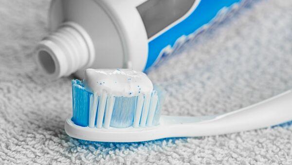 Зубная паста. Архивное фото