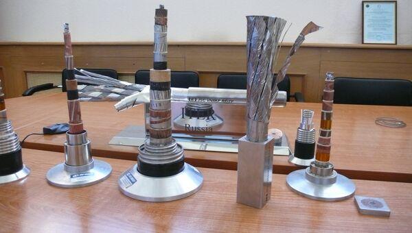 Модели сверхпроводящих кабелей во ВНИИКП в Подольске