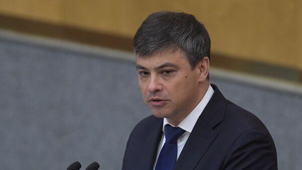 Председатель Комитета ГД по охране здоровья Дмитрий Морозов