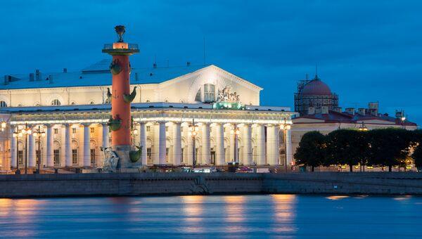 Россия, Санкт-Петербург, Ростральная колонна