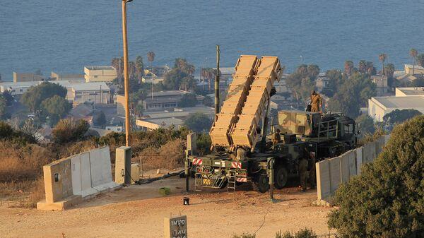 Комплекс ПВО Patriot израильской армии