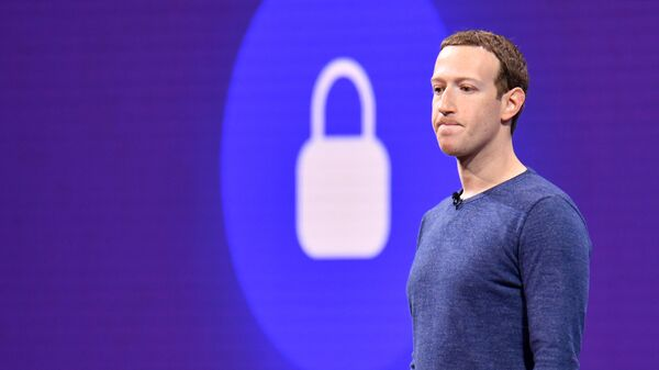 Руководитель компании Facebook Inc. Марк Цукерберг