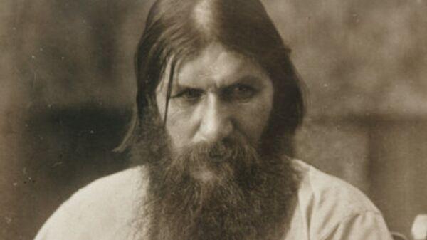 Репродукция фотографии Григория Распутина (1872-1917)