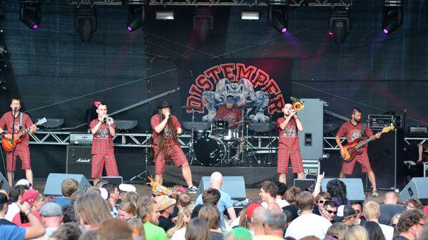 Выступление группы Distemper. Архивное фото