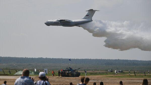 Самолет Бе-200ЧС МЧС РФ