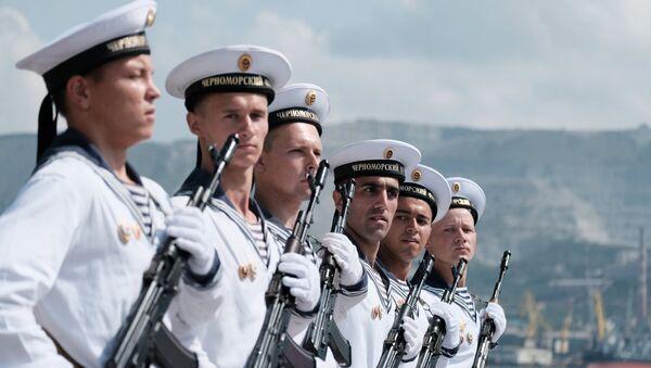 Военнослужащие ВМФ России. Архивное фото