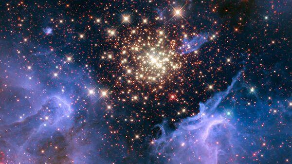 Фотография скопления звезд NGC 3603