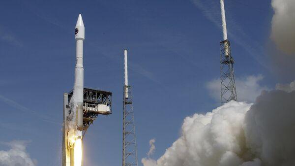 Старт ракеты Atlas 5, штат Флорида