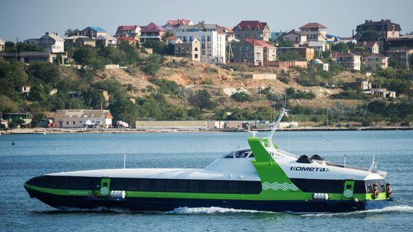 Первый рейс скоростного морского пассажирского судна «Комета 120М»