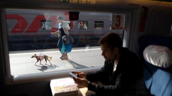 В Российской Федерации запустили первые вагоны сприятными ароматами