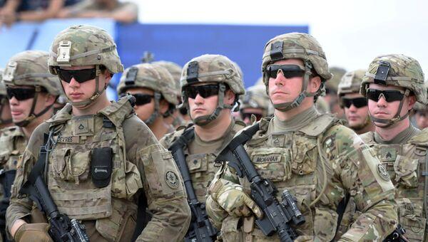 Военнослужащие подразделения cухопутных войск США. Архивное фото