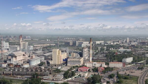 Производство Башкирской содовой компании. Архивное фото