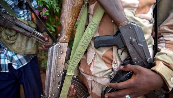 Военный в Центральноафриканской республике. Архивное фото