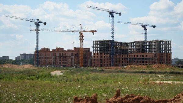 Строительство ЖК Лайково компании Urban Group