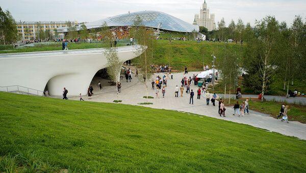Волонтеры парка Зарядье: истории хранителей центра Москвы