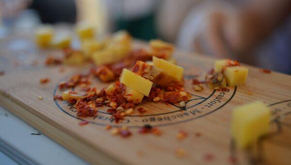 Дегустация сыров на Истринском фестивале сыра-2018