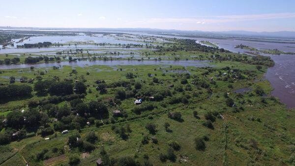 Амурский паводок в Хабаровском крае. 5 августа 2018
