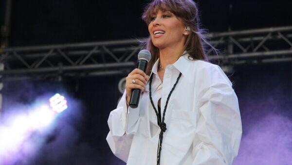 Концерт российских исполнителей к Дню железнодорожника в Луганске 05 августа 2018 года