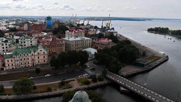 Город Выборг. Архивное фото