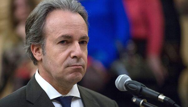 Чрезвычайный и полномочный посол Греции Андреас Фриганас