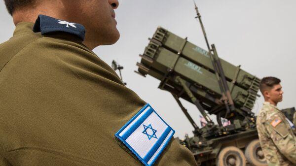 Израильский военный. Архивное фото