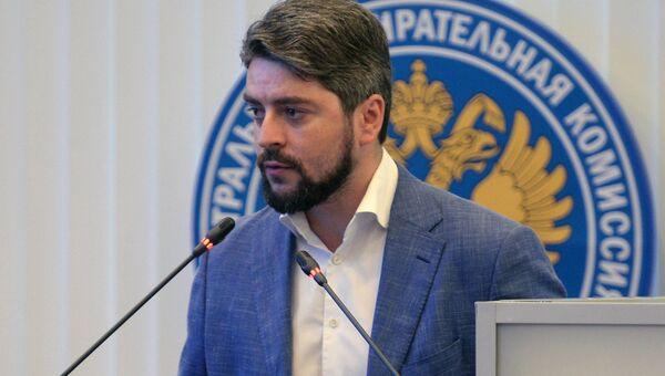 Кандидат на пост мэра Москвы от партии Справедливая Россия Илья Свиридов