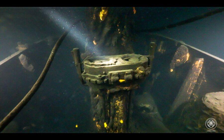 Поводная лодка Щ-317