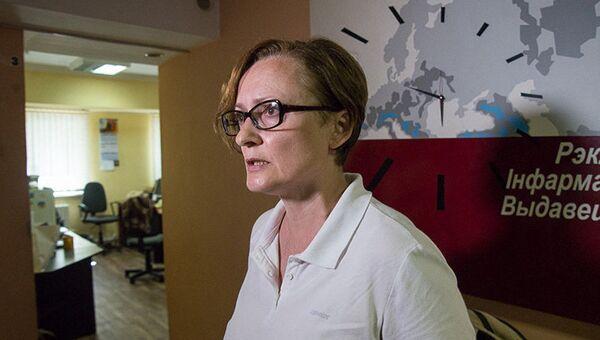 Главный редактор информагентства БелаПАН Ирина Левшина. Архивное фото