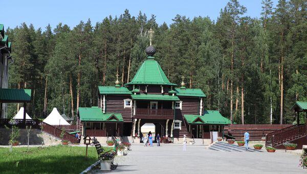 Мужской монастырь Святых царственных страстотерпцев (Ганина яма). Архивное фото