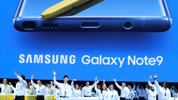 Презентация Galaxy Unpacked в Нью-Йорке