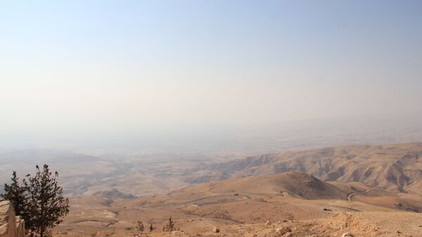 Вид на Иорданскую долину