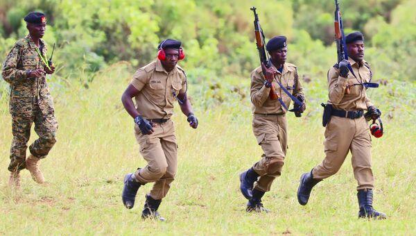 Сотрудники правоохранительных органов Уганды. Архивное фото