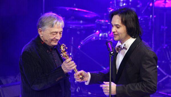 Писатель Эдуард Успенский, ставший лауреатом премии Золотой Джокер MAXIM Jameson 2013 в номинации Человек-легенда