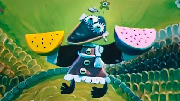 Кадр из мультфильма Пластилиновая ворона(1981)